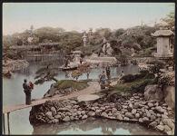 Work 13 of 52 Title: Hotta family garden, Tokyo Creator:   Kusakabe, Kimbei Date: ca. 1883