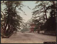 Work 24 of 52 Title: Great gate, Shiba, Tokyo Creator: Kajima, Seibei Date: ca. 1890