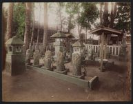 Work 28 of 52 Title: Graves of the Forty-seven Ronin at Senga... Date: ca. 1890