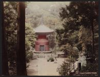 Work 30 of 52 Title: Ikegami Buddhist temple Date: ca. 1890