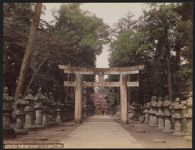 Work 31 of 52 Title: Entrance [to] Toshogu's temple, Uyeno pa... Date: ca. 1890