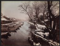 Work 39 of 52 Title: Winter at Sanya-bori, Tokyo Creator: Uchida, Kuichi Date: 1868