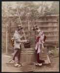 Work 7 of 53 Title: Women drawing water from well Date: ca. 1890