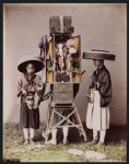 Work 9 of 53 Title: Priests Creator: Farsari, Adolfo Date: ca. 1890