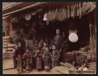 Work 25 of 53 Title: Coarse wares shop Date: ca. 1890