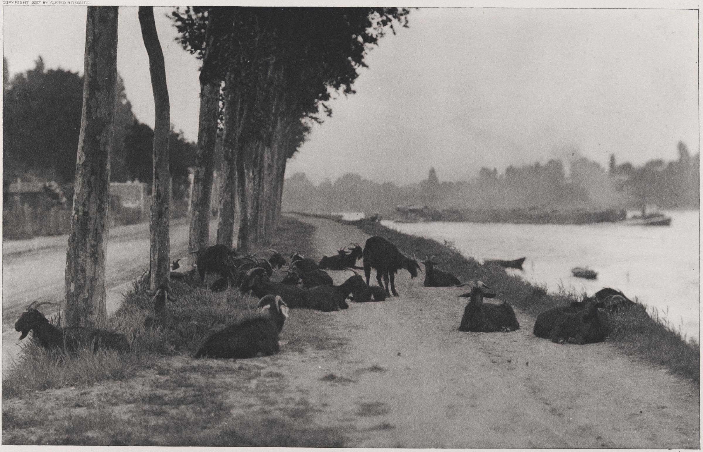On The Seine - Near Paris