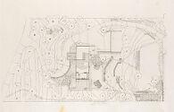 Frank Residence, Pittsburgh, Pennsylvania, 1939-1940: Site plan