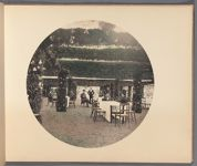 Work 19 of 22 Title: Corner of the temporary dining hall with... Creator: Ogawa, Kazumasa Date: 1898