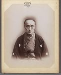 Work 1 of 30 Title: Unidentified Japanese man wearing formal... Date: 188-?