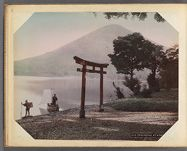 Work 4 of 30 Title: Utagahana [i.e. Utagahama] at Nikko Creator:   Farsari, Adolfo Date: ca. 1885
