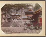 Work 15 of 30 Title: Nikko temple Creator: Ogawa, Sashichi Date: ca. 1895
