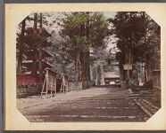 Work 18 of 30 Title: Temple front, Nikko Creator: Ogawa, Sashichi Date: ca. 1895