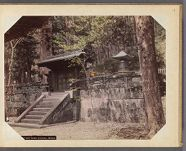 Work 19 of 30 Title: Bronze gate and tomb [of Tokugawa] Iyeya... Creator: Ogawa, Sashichi Date: ca. 1895