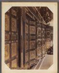 Work 20 of 30 Title: Gilt door, Iyemitsu temple, Nikko Creator: Ogawa, Sashichi Date: ca. 1895