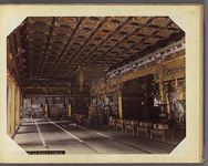 Work 21 of 30 Title: Interior of Nikko temple Date: 189-?