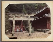 Work 22 of 30 Title: Kioshado temple, Takinoo, Nikko Date: 189-?