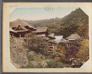 Work 2 of 29 Title: Kiyomidzu Temple, Kioto Creator: Kajima, Seibei Date: ca. 1890