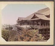 Work 3 of 29 Title: Kiyomidzu Temple, Kioto Creator: Kajima, Seibei Date: ca. 1890