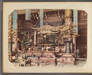 Work 6 of 29 Title: Interior of Chion-in (Budas [sic] temple... Date: ca. 1890