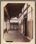 Work 12 of 29 Title: Interior of Konchi-in, Saikio Date: ca. 1890