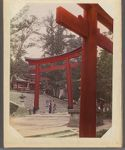 Work 13 of 29 Title: Torii at Fushimi Inari Taisha Date: ca. 1890