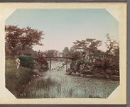 Work 25 of 29 Title: Garden at Hikone, Omi Date: ca. 1890