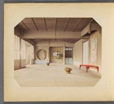 Work 6 of 50 Title: Room with tokonoma in Japanese house Date: ca. 1895