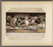 Work 32 of 50 Title: Three wise monkeys,Toshogu Shrine, Nikko Date: 188-?