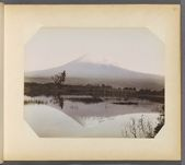 Work 39 of 50 Title: Mount Fuji, looking north from Yoshiwara... Date: ca. 1890