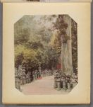 Work 49 of 50 Title: Kasuza Temple road, Nara Date: ca. 1890
