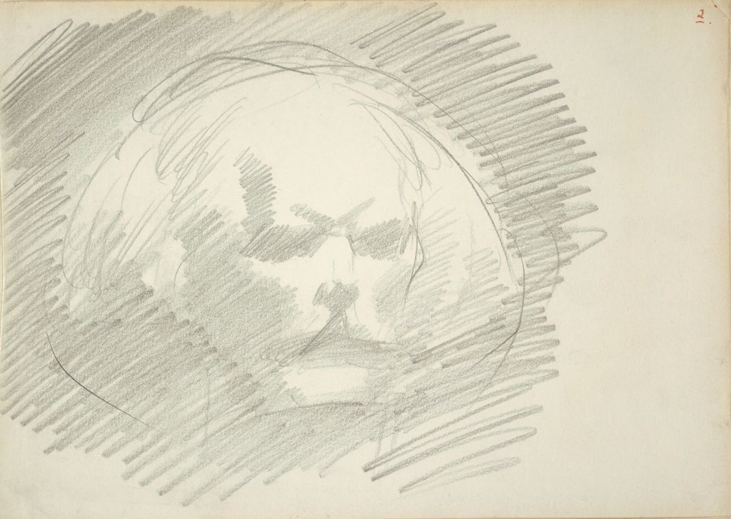 Study For The Head Of Pan, For