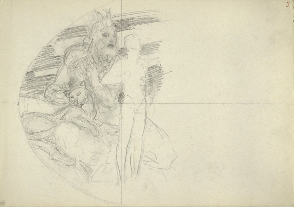 Study For Left Side Of