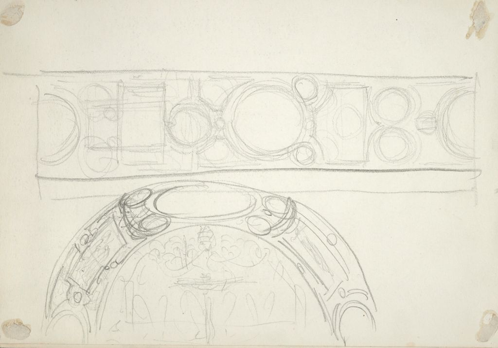 Sketch Of Vaulting Over