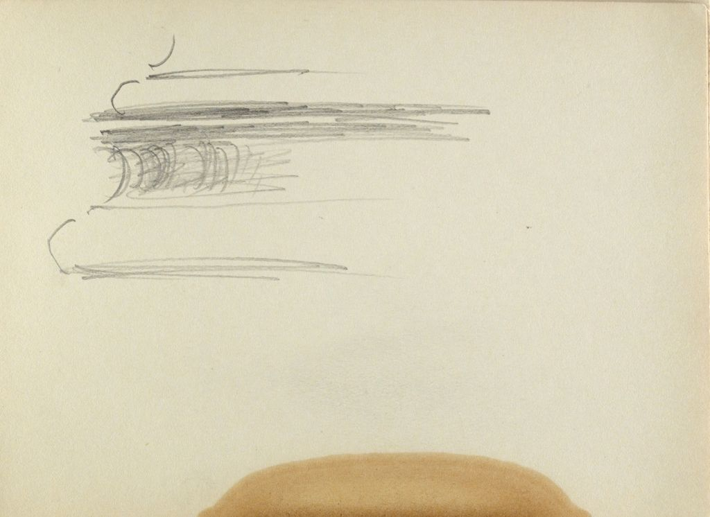 Blank Page; Verso: Profile Of Column Base