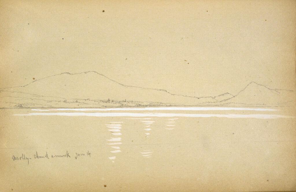 Lake Molly Chunk-A-Muuk With Mountains