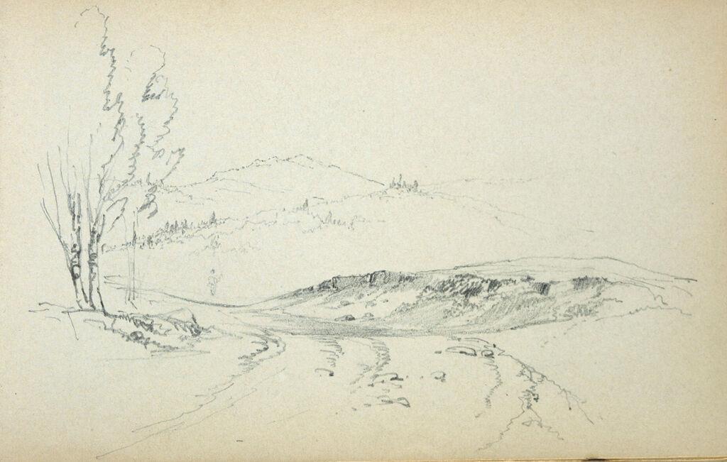 Landscape; Verso: Partial Landscape