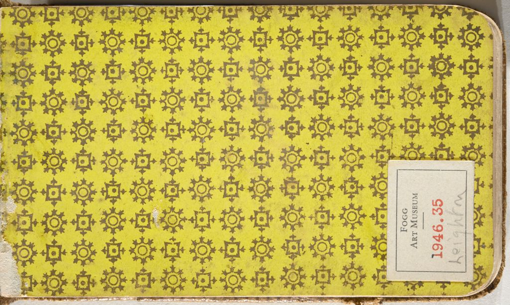 Endpaper; Verso: Inscription With Sketches