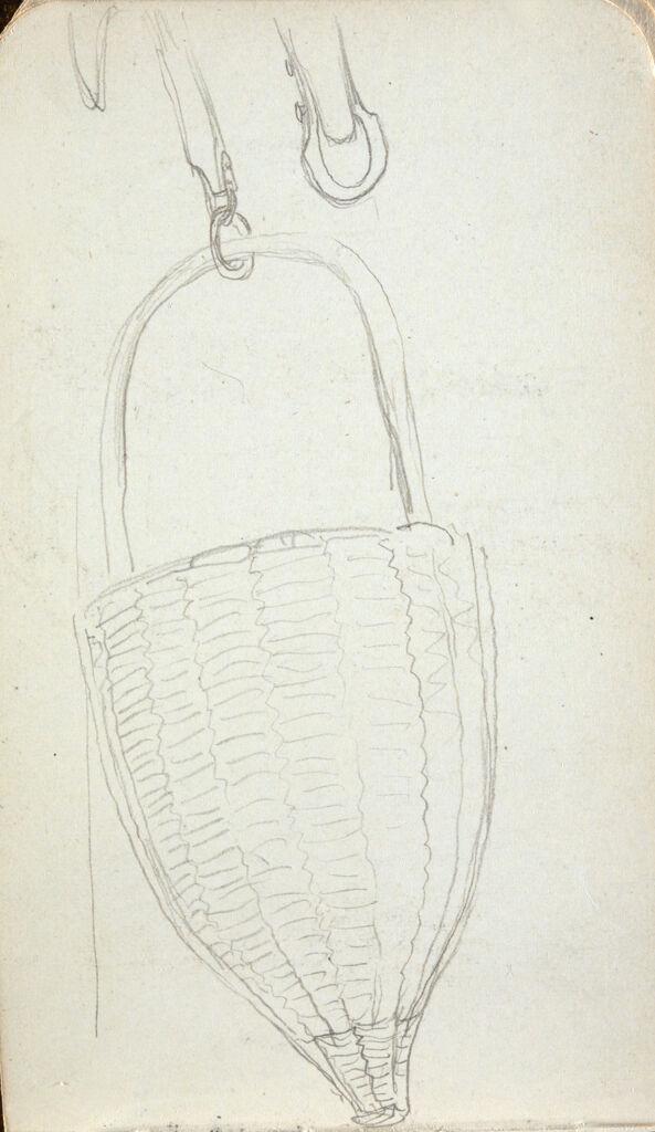 Blank Page; Verso: Hanging Basket
