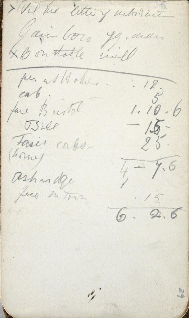 Inscription; Verso: Studies Of Ceramics