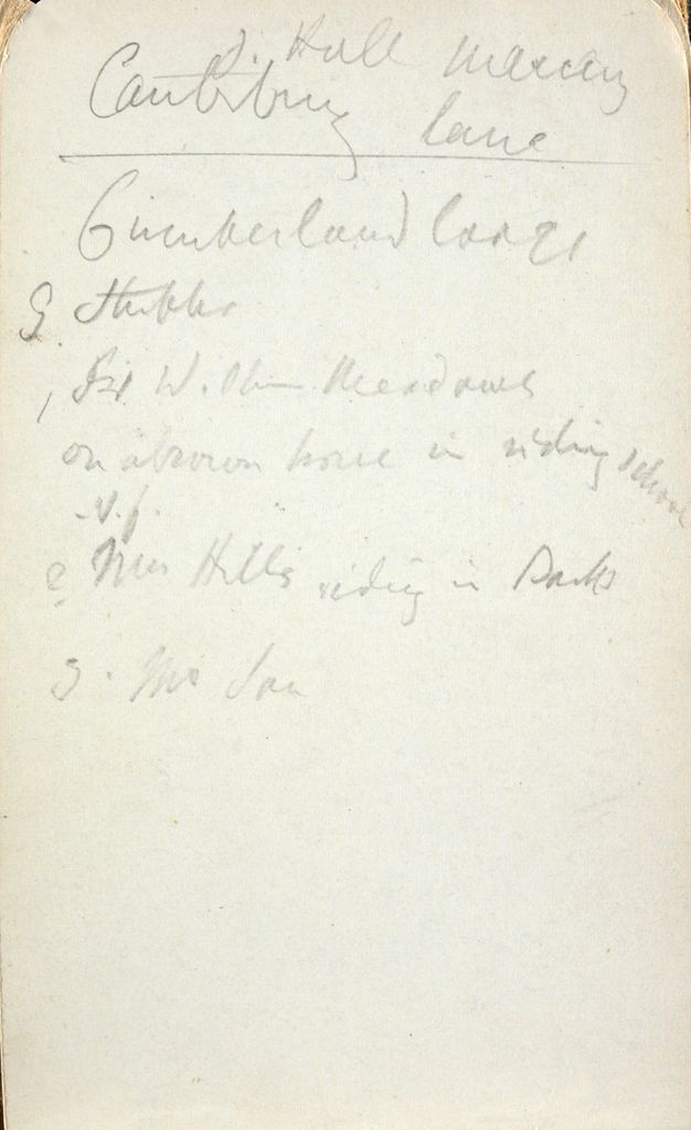 Blank Page; Verso: Inscription