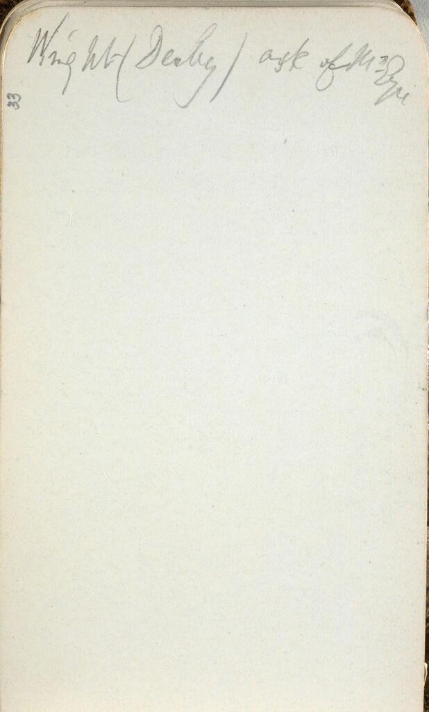 Inscription; Verso: Sketch