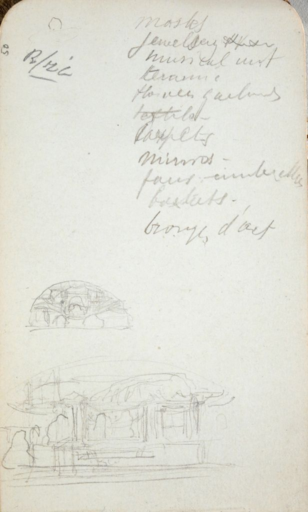Sketches And Inscription (