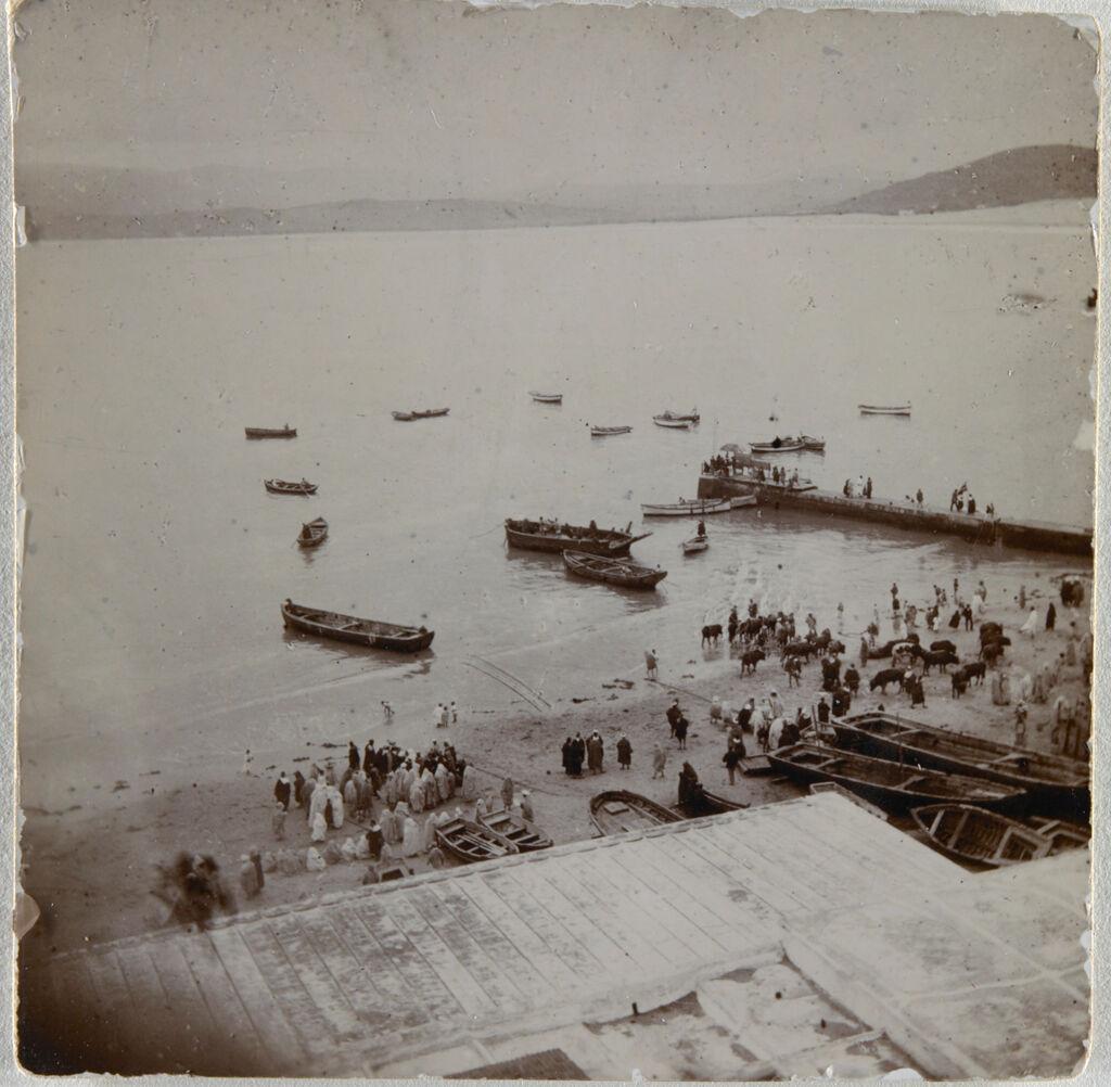 Harbor, Tangiers, Morocco(?)