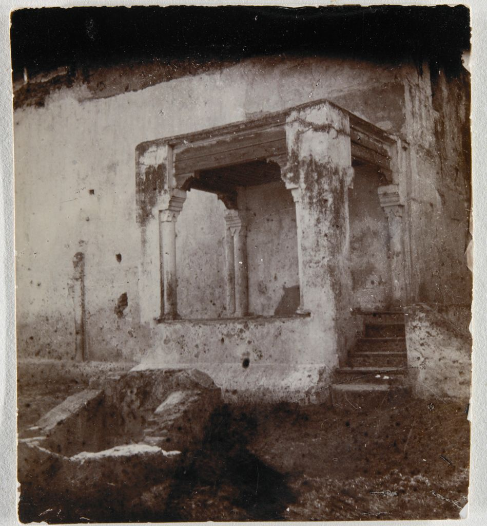 Porch With Columns, Tangiers, Morocco(?)