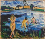 Landscape with Bathing Women