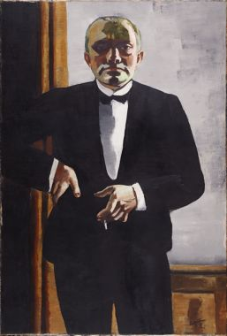 from the harvard art museums' collections self-portrait in tuxedo