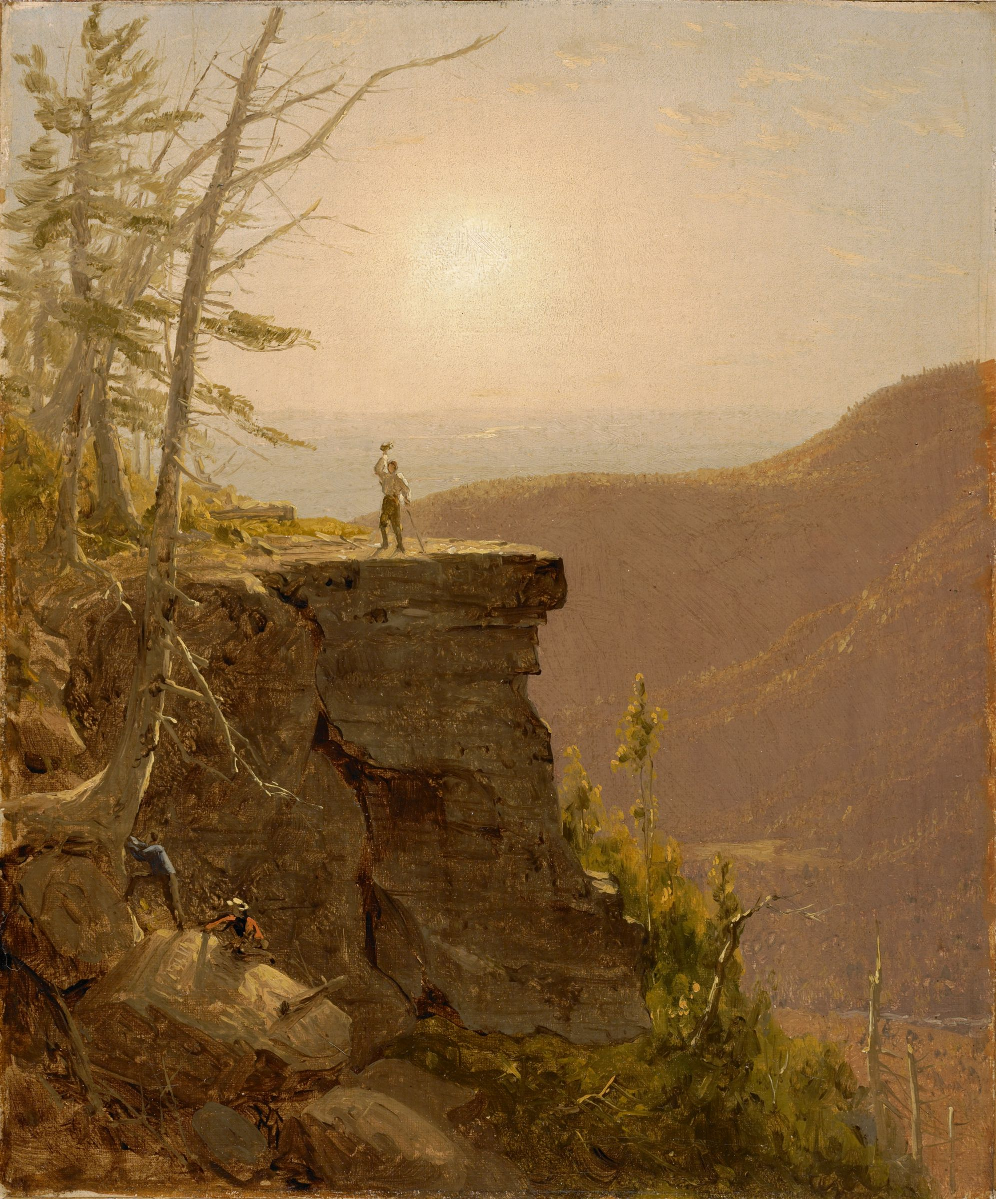 A  Ledge On South Mountain, In The Catskills