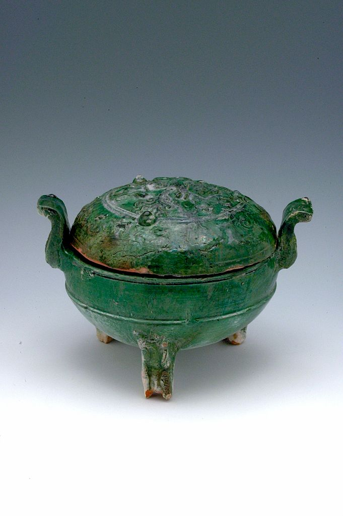 Covered Tripod Cauldron (Ding)