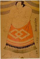 Wrestler Otowazan Minezaemon