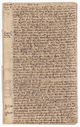 Exposition no. 8, 1709 June 6-1709 June 21 Digital Object